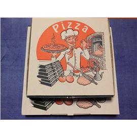 Pizza 26x26x3.5 solapa ita c/ 100 und.