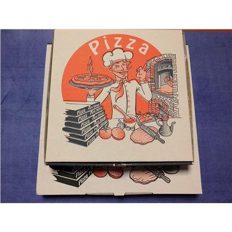 Pizza 26x26x3.5 solapa ita c/ 100 und. - 1070010-PIZZA29