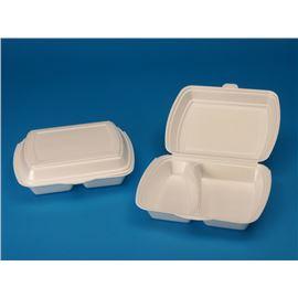 Envase foam 2 compartimentos c/ 200 ud ref: 1682x - 103-1682 DOS COMPARTIMENTOS