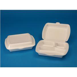 Envase foam 3 compartimentos c/ 200 ud ref: 1683x - 103-1683-3 TRES COMPARTIMENTOS
