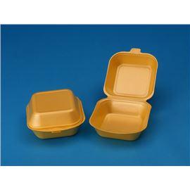 Envase foam para hamburguesa - 102-1476-HAMBURGER