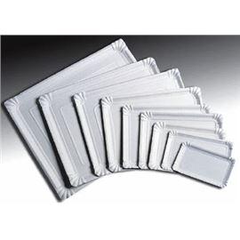 Bandeja carton 34x42 paq.50 ud - 1030018-BANDEJA CARTON RECTANGULAR
