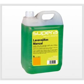Supera - lavavajillas manual grf. 5 ltr. x 4 uds - 2900008