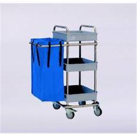 Carro camareras 3 bandejas 1 bolsa al-50350 - 3990009-CARROCAMARERA3BANDEJA1BOLSA