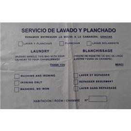 Bolsa lavanderia paq. 100 ud - 1660026-BOLSA LAVANDERIA