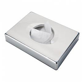 Dispensador bolsas higienicas 13.5x10x2.6 plat. - 3830006-DISPENSADOR BOLSAS HIGIENICAS