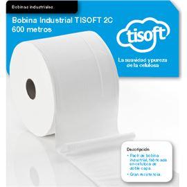 Bobina trapicel industrial tisoft 2c 600 m. ce225 - 2330025