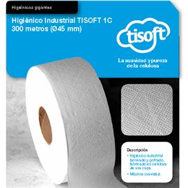 Papel hig. yumbo 1c 300 mtr tisoft s/12 ud ce063 - 2340026
