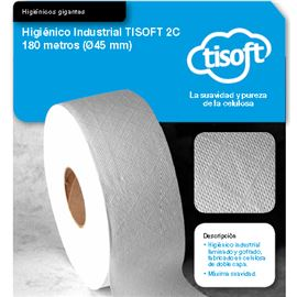 """Papel hig. yumbo 2c""""tisoft 180mtr 45mm s/12r ce049 - 2340023"""