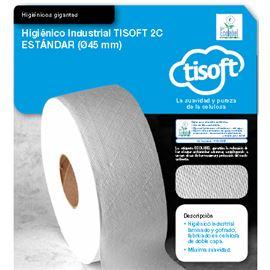 """Papel hig. yumbo gofrado """"tisoft"""" s/ 18 rl ref: ce070 - 2340022"""