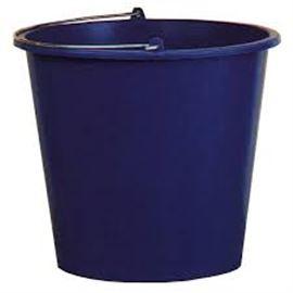 Cubo 12 litros qalita c/12 uni pla - 2810017