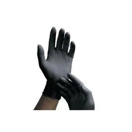 Guante latex negro t-grd pack 100 ud