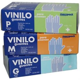 Guante latex t- grd sin polvo 100 ud - 2470051-52-53
