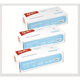 Guante vinilo profit con polvo t-med 100 ud - 2470015-27-31-40-41-55-56-59