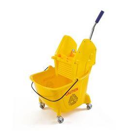 Carro 24 ltr. economico con prensa mop ref: 409005 - 2810004