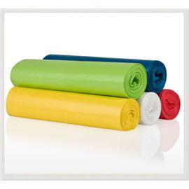 Bolsa basura 85x105 verde fortplas 10 und. c/ 40 ros bbr048m - BOLSA COMUNIDAD COLORES