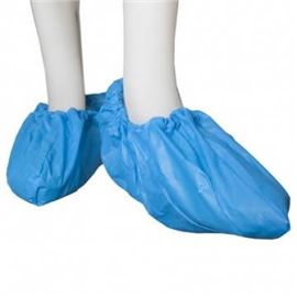 Cubrezapatos de polietileno azul pq 100 c/2000 - 2490013