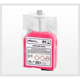 Effiplus limpiador acido 4*1.5 ltr. - 3000101-EFFIPLUS LIMPIADOR ACIDO