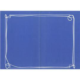 Minimantel 32 * 40 lito fondo azul 1000 ud - 1440001-MINIMANTEL LITO AZUL