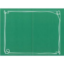 Minimantel 32 * 40 lito fondo verde 1000 ud - 1440002-MINIMANTEL LITO VERDE