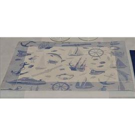Minimantel 30x40 50gr marinero azul c/500 ud - 1440011-MINIMANTEL MARINERO AZUL