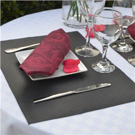 Mini mantel 30x42 startela negro hilo blanco - 1460004-MINIMANTEL30X42STARTELANEGROHILOBLANCO