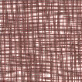 Mantel 1x1 blanco hilo burdeos c/400 ud - 1490017-MANTEL1X1BLANCOHILOBURDEOS