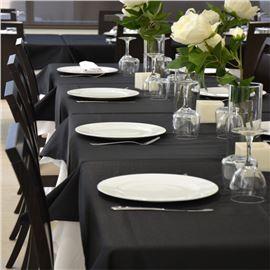 Mantel 40x120 startela color negro und - 1540019-MANTEL40120STARTELANEGRO