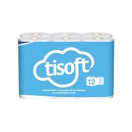 "Papel ""basic"" hig. tisoft s/ 108 rollos (marlina) ref: cel084 - 2360010"