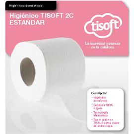 "Papel ""standar"" higiénico ""tisoft"" s/ 108 ud ref: ce019 - 2360027"
