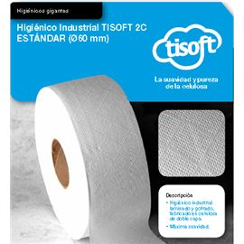 Papel hig. yumbo tisoft mand 60 s/18 ud ref: ce071 - 2340028