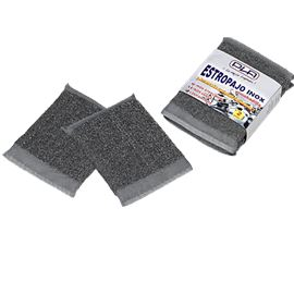 Almohadilla estropajo acero inox pack 2 und. c/ 20 uds - 2420036