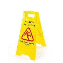 Cartel pavimento mojado 2 ( o 3) idiomas - 2440034
