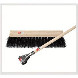 Cepillo barrendero 50 cm fibra negra - 2460010