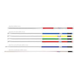Palo aluminio 1,40 azul d.rosca c/talad - 2480001-2-3-4-6-7-12-13