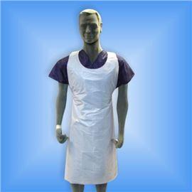 Delantal polip. blanco un uso c/ 1000 ud sani - 2490006