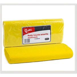 Rollo bayeta qalita amarilla multiusos 6 mt. - 2410056