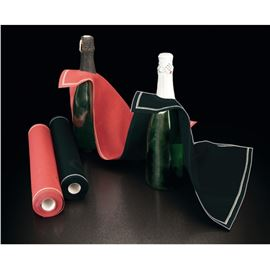 Rollo cubi drap negro 40x40 - 2410060