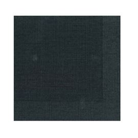 Serv 20x20 2c micro negra hilo blanco c/40 paq - SERVILLETA NEGRA HILO BLANCO