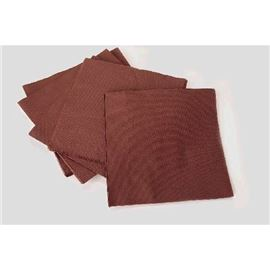 Serv 20x20 punta punta marron c/36 paq mr - 1200015