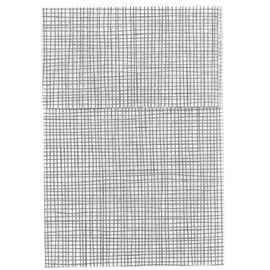Mini servis blanca hilo negro c/48 paq. ref: 17blhn - 1160005-MINI SERVI BLANCA HILO NEGRO