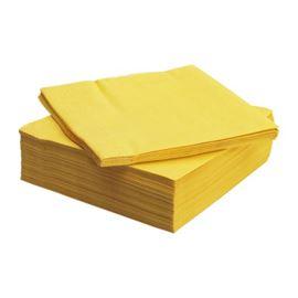Servilleta 33x33 2capas amarilla - 1310012