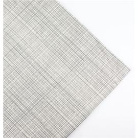 Servilleta 33x33 blanca hilo gris - 1320004-SERV BLANCA HILO GRIS
