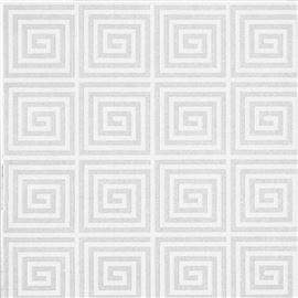 Servilleta air laid mod. greca blanca - 1240002