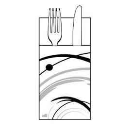 Serv. 40x40 kanguro (gala)gris-negro ref: t260093 - 1340097
