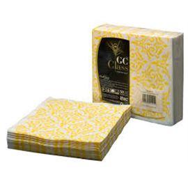 Serv . 40x40 tisuclass siena amarilla c/ 600 ud - 1340046-SERVILLETA 40 TISUCLASSIENAAMARILLA