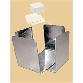 Servilletero metalico 20x20 - 1410002
