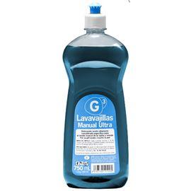 G3 lavavajillas manual ultra 12x 750 ml c/12 uds - 2940017-G3 LAVAVAJILLAS MANUAL ULTRA 750ML