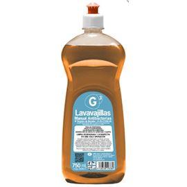 G3 lavavajillas higienizante coh005 12 x 750 ml c/12 ud - 2940013-G3 LAVAVAJILLAS ANTIBACTERIAS