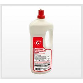 G3 deterg. desincr baños 2l higienizante c/6 unidades - 2950033-G3 DETERGENTE DESENCRUSTANTE BAÑO 2L